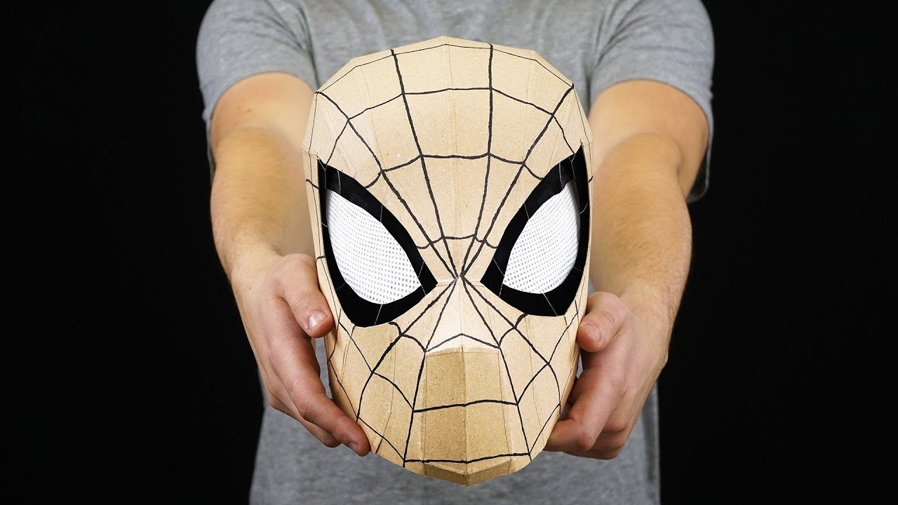 Resource image with spiderman mask printable