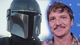 Pedro Pascal exclusive on The Mandalorian - Star Wars - Disney D23Expo