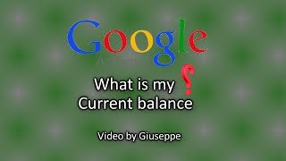 Google adsense current balance view, How to (Easy)