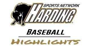 2019 Harding Baseball Highlights vs. Williams Baptist