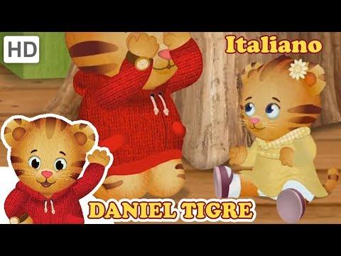 Daniel Tiger in Italiano - Giocare con tua Sorella
