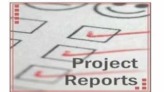 Project Reporting Templates &  Project Management Templates