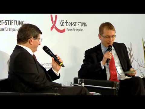 H.E. Prof. Dr. Ahmet Davutoğlu, Prime Minister of the Republic of Turkey, gave speech in Berlin