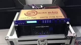 Đánh giá Test cục đẩy CA 20 Crest Audio nhập khẩu giá tốt nhất