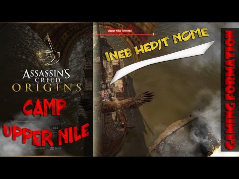 Assassins Creed New Game | ASSASSIN'S CREED ORIGINS NEW GAMEPLAY WALKTHROUGH Camp-UPPER NILE TRIREME