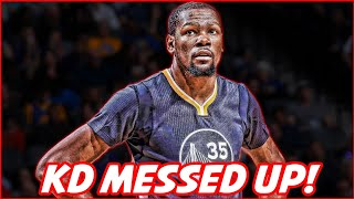 Huge fail! kevin durant accidentally reveals real reason he left okc! | nba news