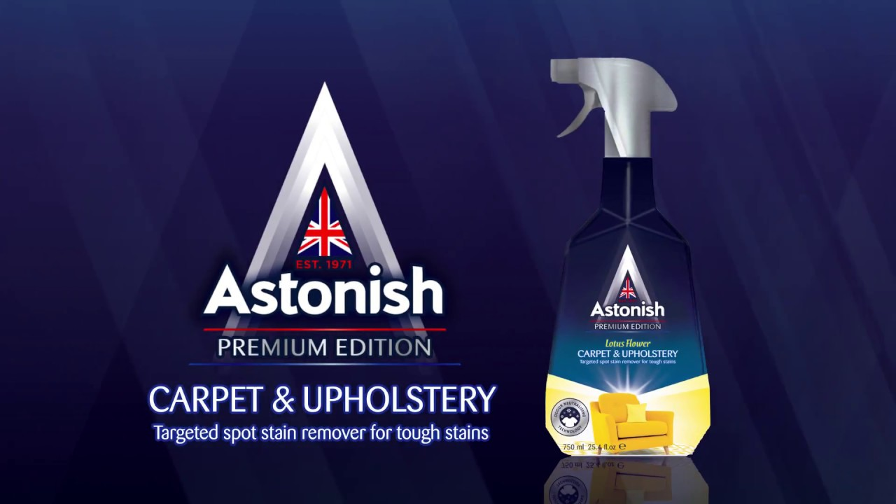 Astonish Premium Edition Carpet Upholstery Stain Blaster Youtube
