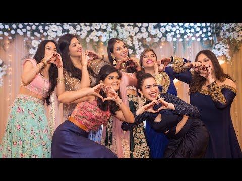 ChashmaRanjan Sangeet: (My) The Bride's performance to Mere Khwabon Mein Jo Aaye (Song 2)