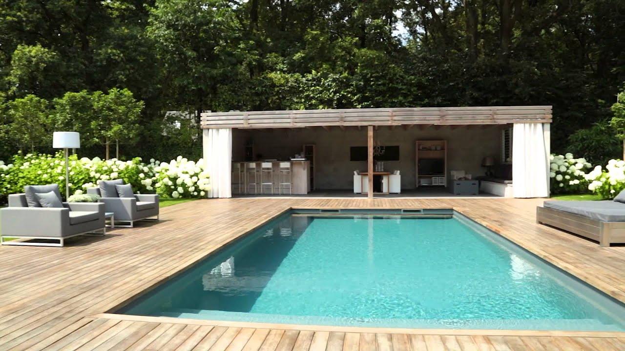 Pure outdoor design villa tuinen youtube for Design tuinen