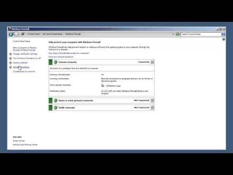 SQL Server 2012 Tutorial - SQL Server Port Settings on Windows Server 2008 R2