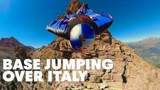 Red Bull Air Force BASE Jumps Italy, Part 1 | Miles Above 3.0