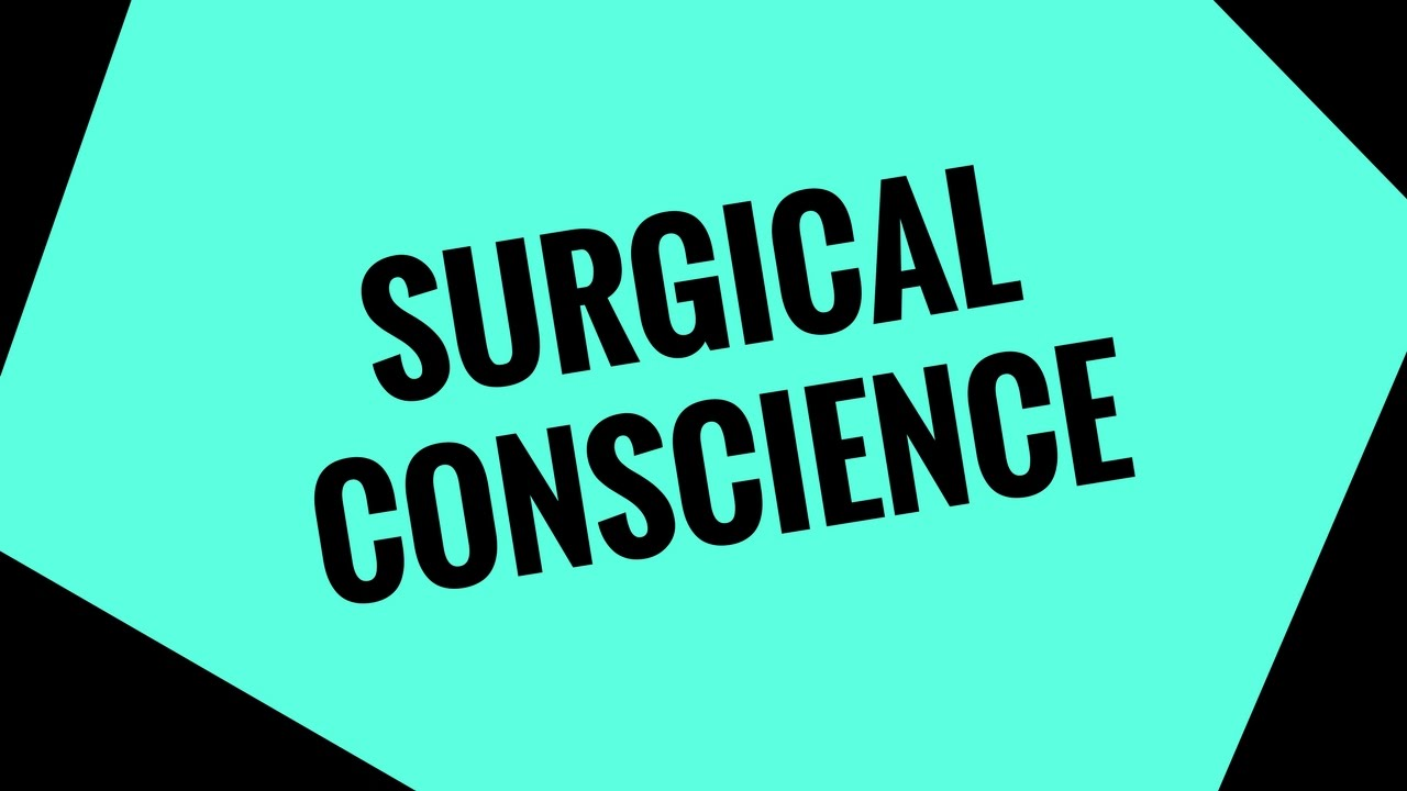 a surgical conscience Find this pin and more on surgical technology ~ a great career by sharid57 discover limited edition surgical techs t-shirt, a custom product made just for you.