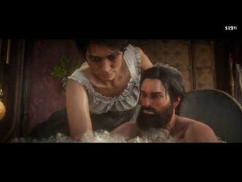 Red Dead Redemption 2 – Taking a Bath Deluxe - Being Washed by a Woman