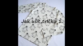 Gambar cover Jak ušít tričko 1. (how to sew t shirt 1.)