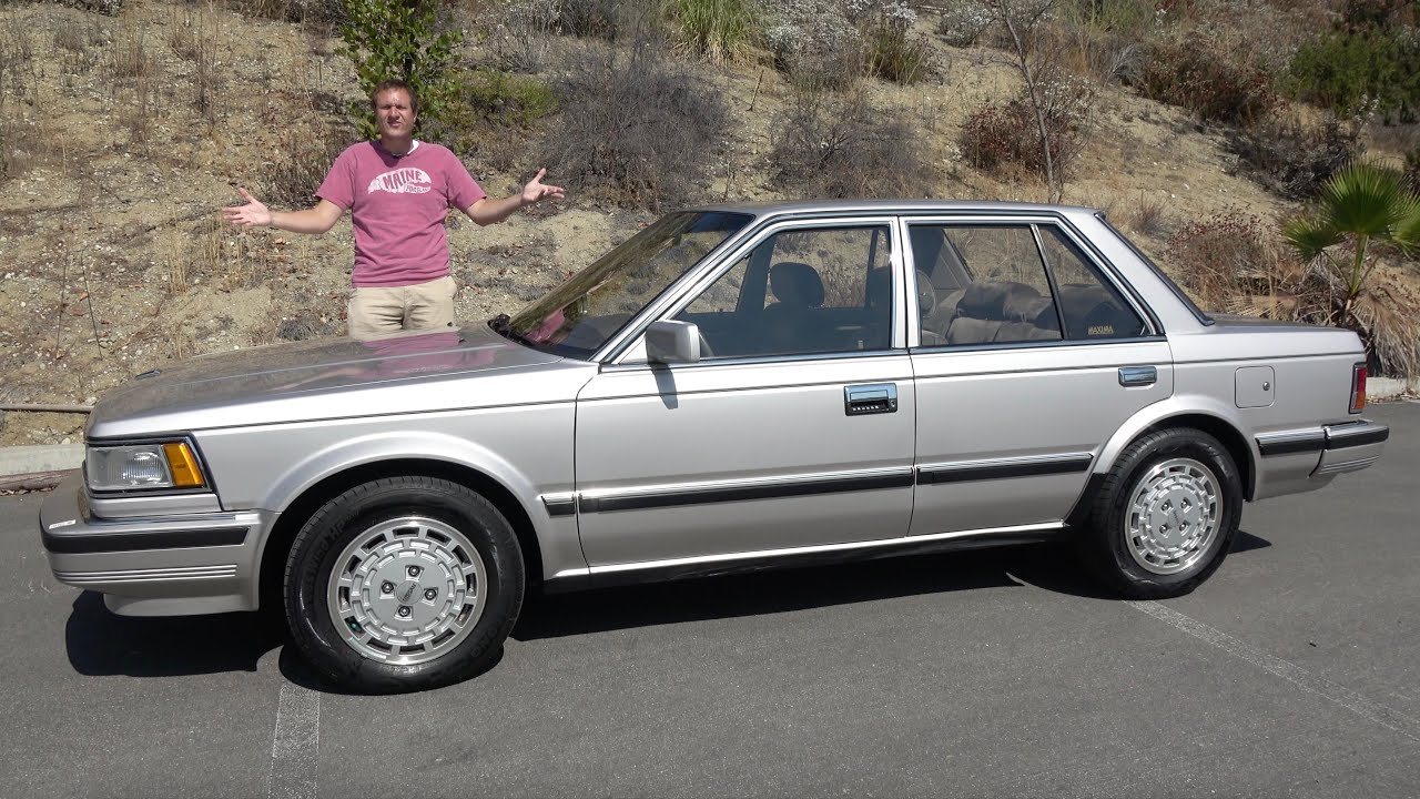 Download The 1986 Nissan Maxima Was a High-Tech 1980s Sport Sedan
