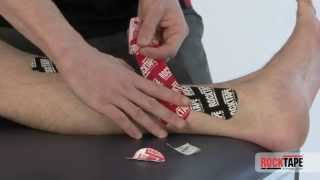Rocktape - Taping for shin splints