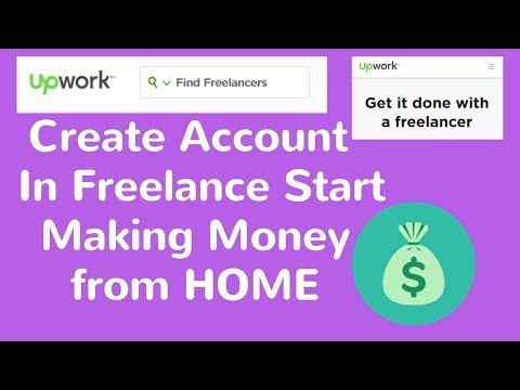 How to Register In UPWORK & Earn salary from Home