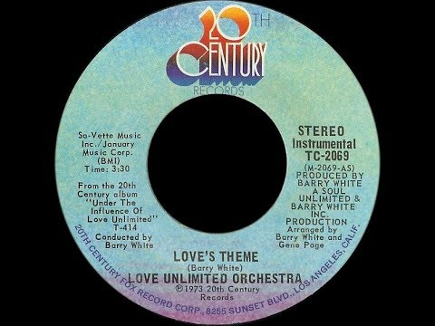 Love Unlimited With Love Unlimited Orchestra ~ Love's Theme 1974 Disco Purrfection Version
