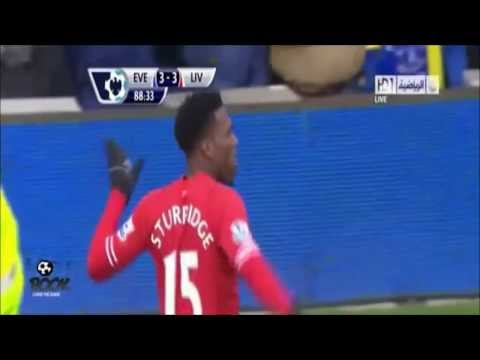 Sturridge Celebration's Dance Against Everton