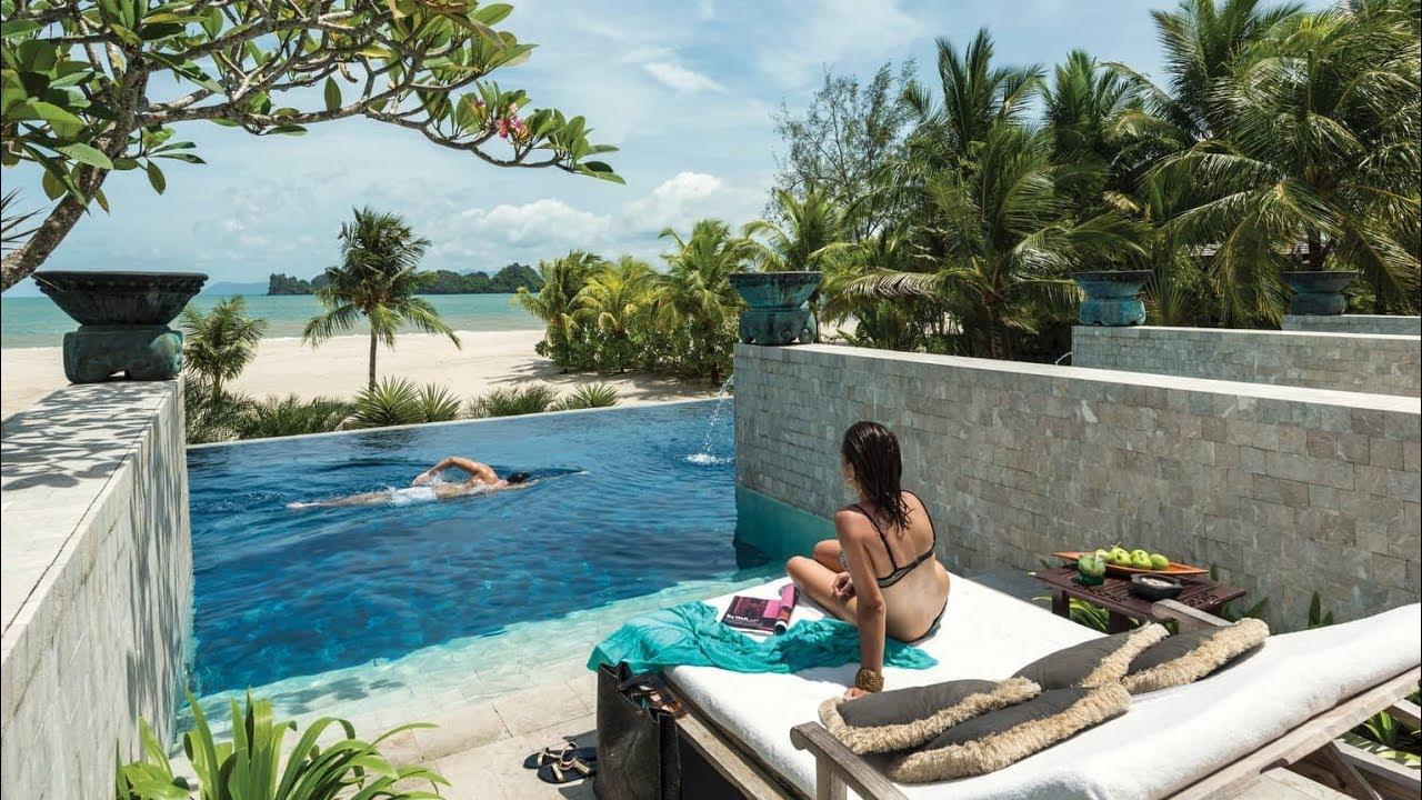Beach Four Seasons Resort Langkawi Malaysia