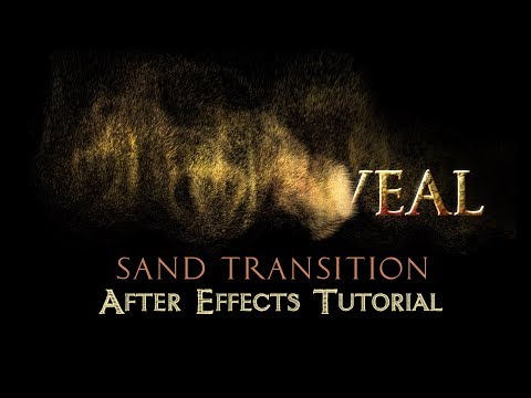 text-to-sand-transition---after-effects-tutorial-(no-plugins)