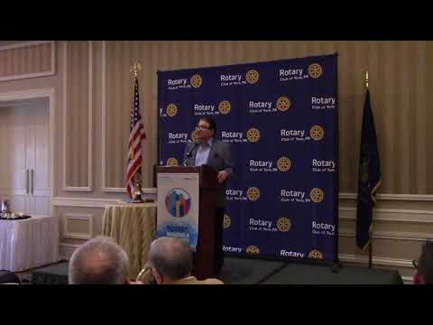 G.Terry Madonna,Midterm Elections,Rotary Club of York PA,Meeting,1/24/2018