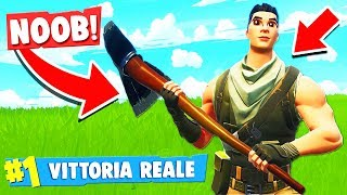 "CHALLENGE IMPOSSIBILE, WIN WITHOUT SKIN ""DIVERTIENT"" - Fortnite ITA"