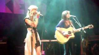 Megan and Liz- Stereo Hearts Cover. House of Blues 1/29/12