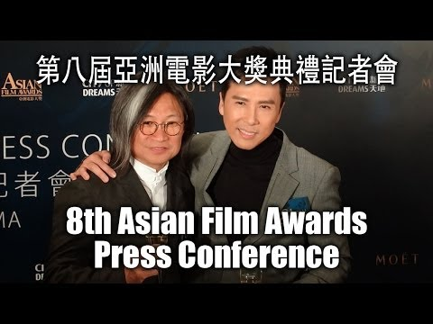 Donnie Yen at 8th Asian Film Awards Nominees Announcement Press Conference 2014