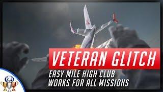 EASY Call of Duty Modern Warfare Remastered Veteran Mile High Club Glitch - Earn Veteran on Recruit