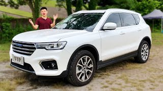 Haval H7 is A Chinese SUV You