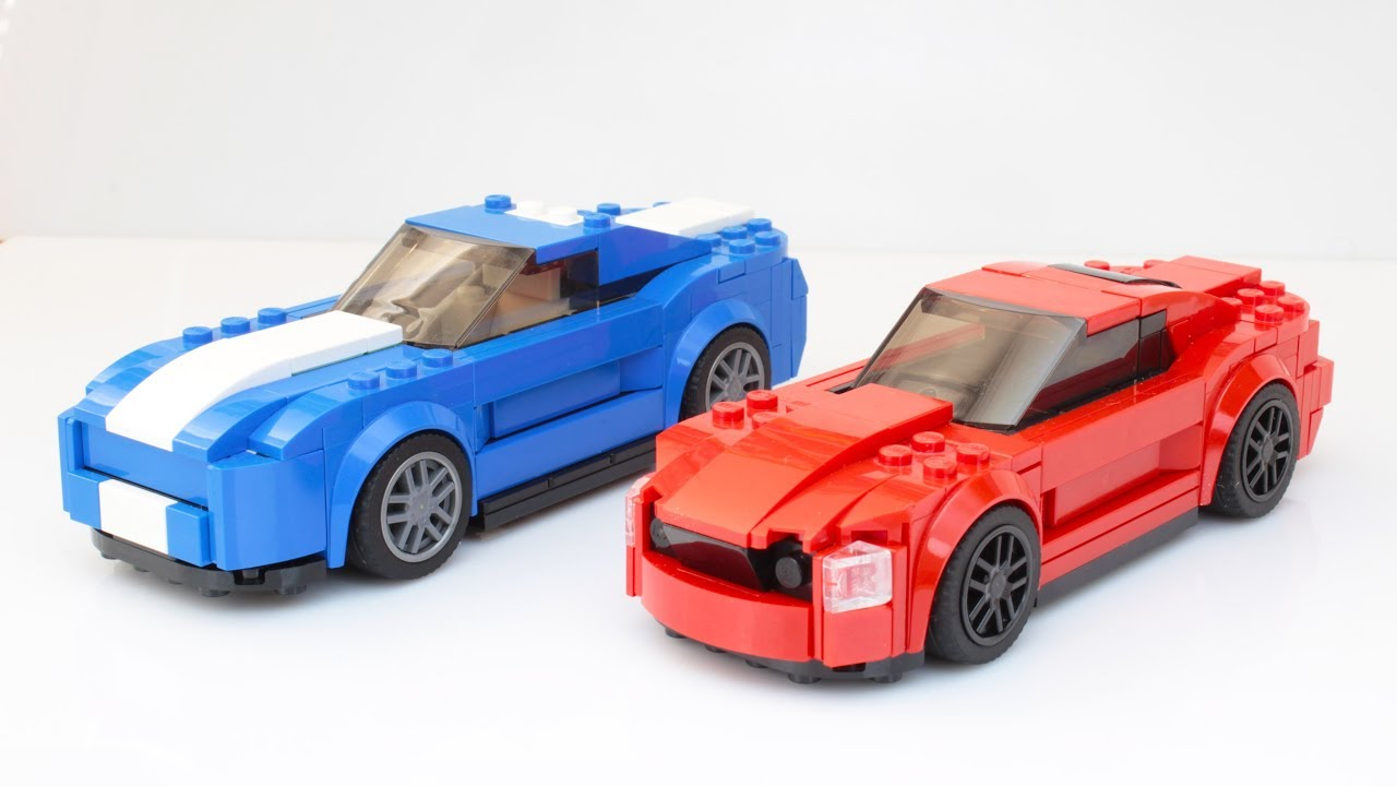 lego speed champions ford mustang gt moc youtube. Black Bedroom Furniture Sets. Home Design Ideas