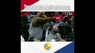 El mejor servicio de barbería dentro de una arena   NBA México