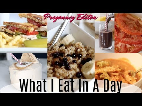 What I Eat In A Day - Pregnancy Edition! MissLizHeart