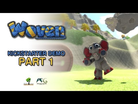 Woven Kickstarter demo playthrough - Part 1