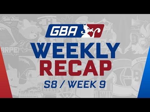 GBA Season 8 Week 9: Weekly Recap