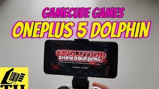 Evolution Snowboarding Gameplay Dolphin test Gamecube games smartphone Android OnePlus 5