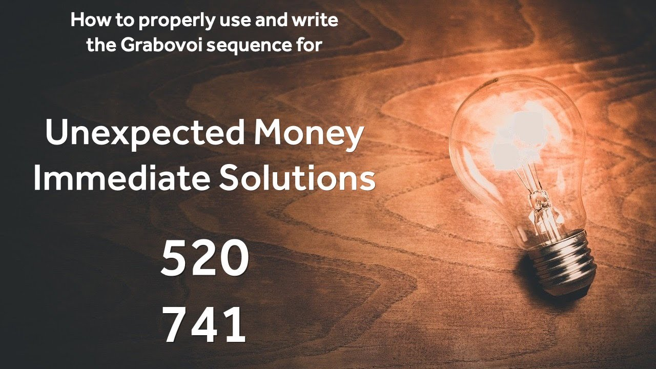 Download A short note about the Unexpected Money / Immediate Solutions Grabovoi sequence. 520 741