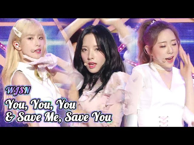 [Comeback Stage] WJSN - SAVE ME,SAVE YOU + You, You, You, Show Music core 20180922