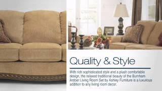 Burnham Amber Living Room Set - Colemanfurniture.com