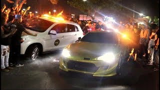 POLICE ABSOLUTELY DESTROYED AT CAR MEET! ( They Failed )