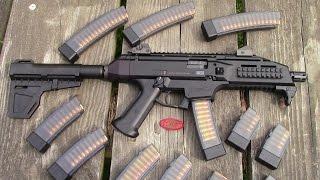 cz scorpion evo 3 s1 with shockwave blade arm stabilizer kak industry prepperkip