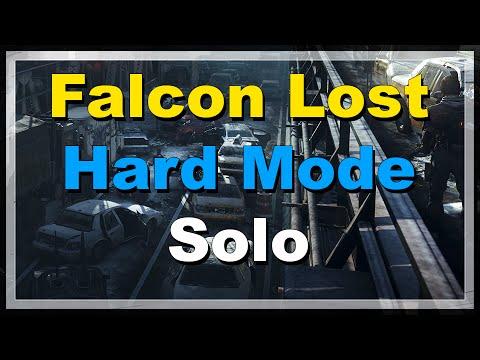 [The Division] Falcon Lost Hard Mode Solo Clear