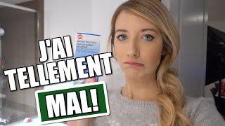 J'AI TELLEMENT MAL!! | VLOGMAS JOUR 3 | 2 décembre 2016