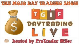 How to make $1,000 Day Trading Stocks 💥 TGIF Day Trading Live