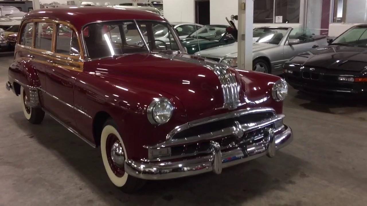 1949 Pontiac Streamliner Tin Woodie Wagon Youtube
