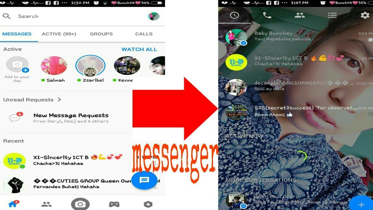 Messenger Background Change Youtube
