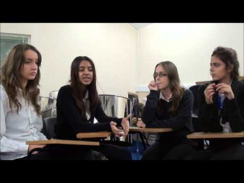 Goodbye to 2012: Young people from George Mitchell School
