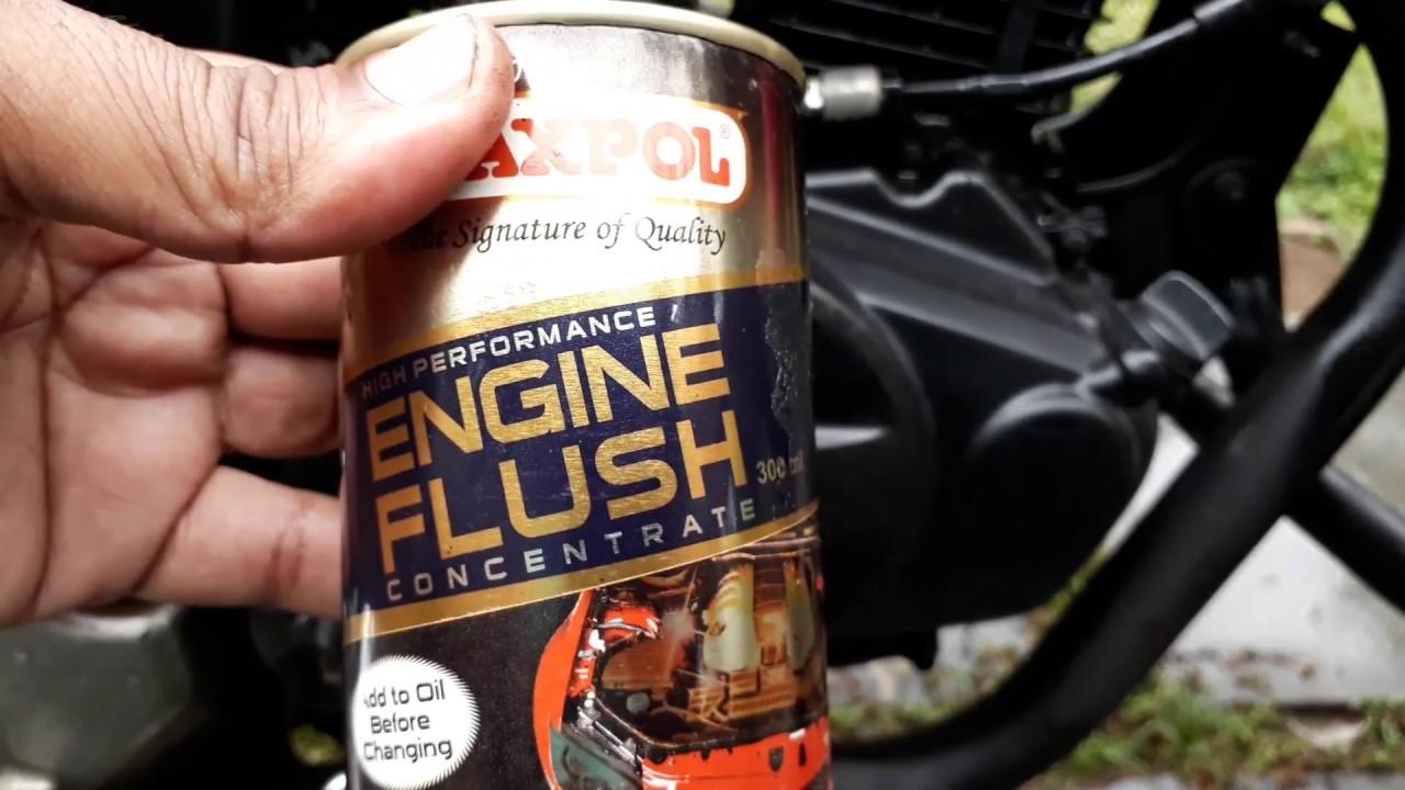 engine oil flushall     youtube
