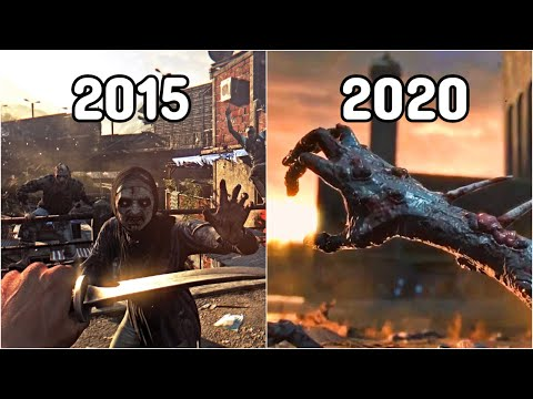 Evolution Of Dying Light 2015-2020